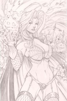 Lady Death by SquirrelShaver