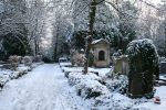 Winter cemetery stock 10 by Malleni-Stock