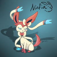 Ninfia (Sylveon) by Zerochan923600