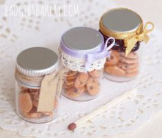 Cookie jars by BadgersBakery