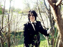 His Butler - From the trees 3 by zombie-tea-party