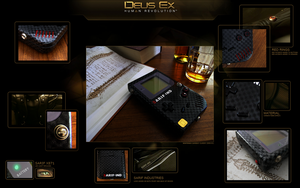 Deus Ex Gameboy Classic by FeveredDreams