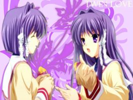 Twin Love - Clannad by aiiro-hime
