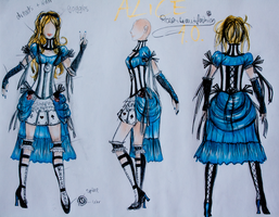 COMMISSION Pimped Disney Alice 1.0 by Rosenbrautfashion