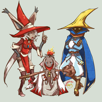 Final Fantasy Tactics: My Team by karniz