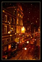 Night snow.. by tariq12