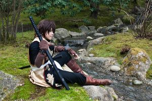 Souji Okita - resting by dark1110