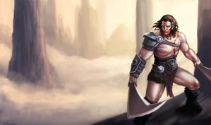 Barbarian by tranmonster