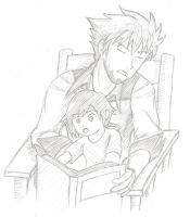 Bedtime Story Time with Uncle Qrow (RWBY) by AlphamusPrime
