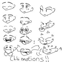 Chibi Emotions by Devain