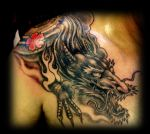 Japanese dragon by WildThingsTattoo