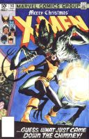 X-MEN 143 Cover recreation by Cinar