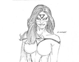 Spider Woman Portrait by montes-h