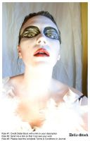 Black Swan FacePaint.13 by Della-Stock