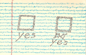 Typography - Check Yes, Juliet? by scriptPsychopath