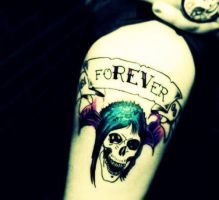 foREVer tattoo by SynysterSoldier
