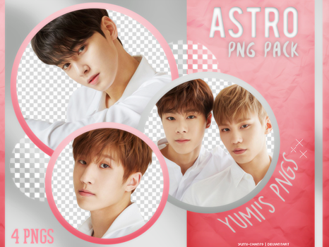 PNG PACK: ASTRO (Dream Part.1, Concept Photo #02) by Yumi-chan19