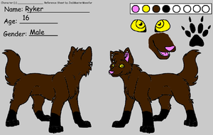 Ryker ref by QuestionTheDragon