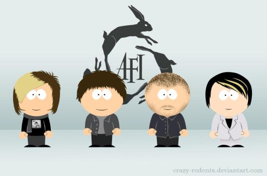 AFI - South Park Style by crazy-rodents