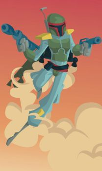 Boba Fett by Ape74