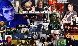 another MCR background by Audrey-Taft