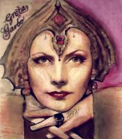 Greta Garbo - matta hary movie by AnnarXy
