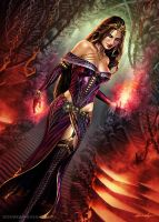 Liliana Vess.  Extras version by SteveArgyle