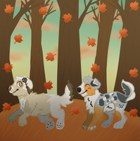 Run In The Leaves by broizy