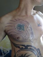 tribal tattoo 2 by campfens