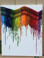 Melted Crayon Art by katiekat228