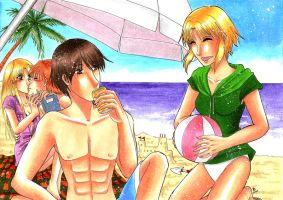 Summer Time Love by dievegge