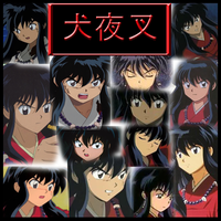 Inuyasha - Human Collage by Strawberry-of-Love