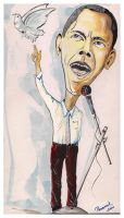 Caricature-Obama by kp1986