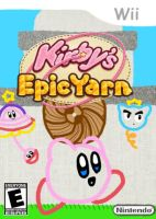 Kirbys Epic Yarn Cover Contest by PiePiyo