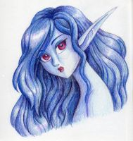 WIR-The Blue Lady by queenbean3