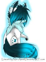 Blind Scene Fox Adoptable ~ 6 :.:CLOSED:.: by BiahAdopts