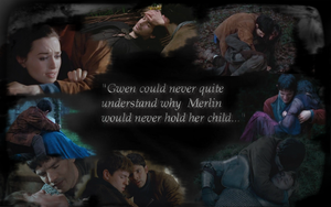 Died in your Arms - Merlin Spoilers by vapor-in-the-wind