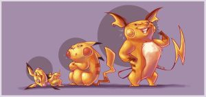 Thunder Powered Mice by Gautree