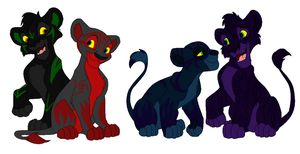 Lion Adopt Batch 4 by Howler-Adoptables