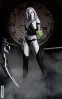 Lady Death - Time's up by ThreeElves