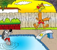 Bill and Buster Pool by MatthewHunter