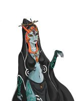 Midna Colored by kuhu
