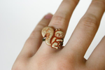 Storybook Squirrel Ring by MonsterBrandCrafts