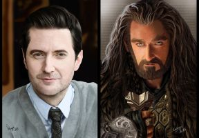 Mr Armitage - Mr Oakenshield by Ondjage