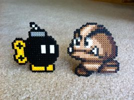 Mario Baddies bead Sprites by Night-TAG