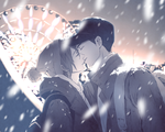 snow kiss by deaism29