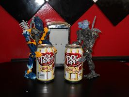 Toa drinking Dr.Pepper by ToaDJacara