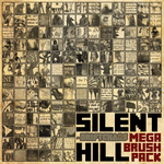 Silent Hill Mega Brush Pack [2013] by radroachmeat