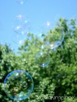 Bubbles and Bokeh by AnhPho