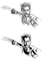 Wolverine_Pencils and Inks by gastonzubeldia